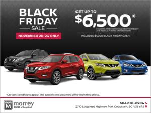 Nissan's Black Friday Sale!