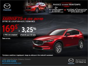 Procurez-vous le Mazda CX-5 2018 aujourd'hui! chez Performance Mazda à Ottawa