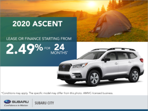 Get the 2020 Subaru Ascent Today!