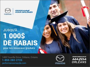 Programme pour diplômés chez Performance Mazda à Ottawa