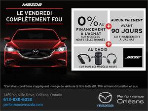 Le vendredi complètement fou chez Performance Mazda à Ottawa
