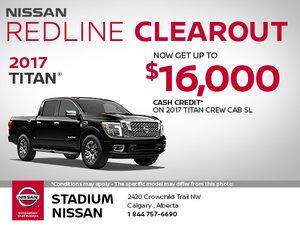 Save Big on the 2017 Nissan Titan