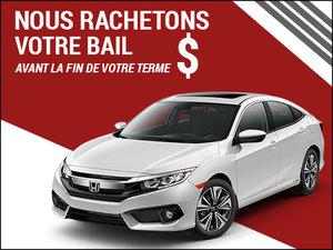 Nous rachetons votre bail à l'achat d'un Honda neuf! chez Groupe Vincent à Shawinigan et Trois-Rivières