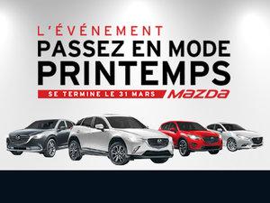 Passez en mode printemps avec votre futur Mazda neuve! chez Groupe Vincent à Shawinigan et Trois-Rivières