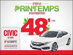 C'est le printemps d'en profiter sur nos Honda neufs! chez Groupe Vincent à Shawinigan et Trois-Rivières