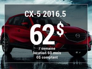 Un Mazda CX-5 2016.5 à partir de 62$ par semaine chez Groupe Vincent à Shawinigan et Trois-Rivières
