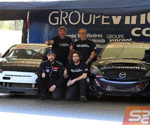 Groupe Vincent Compétition : une première compétition réussie à Calabogie!