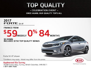 Get the 2017 Kia Forte Today