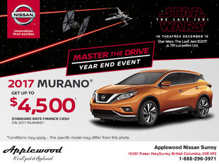 Get a new 2017 Murano today!