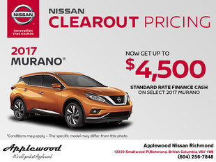 Save on the 2017 Nissan Murano Today