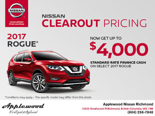 Get the All-New 2017 Nissan Rogue