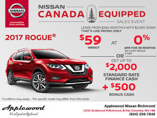 Get the All-New 2017 Nissan Rogue Today