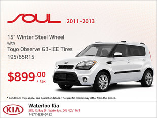 Get Winter Steel Wheel Tires for Your Soul (2011-2013)!