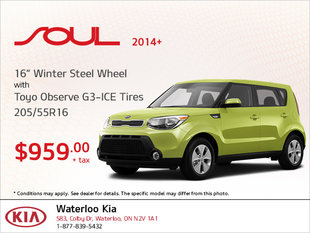 Get Winter Steel Wheel Tires for Your Soul 2014+!