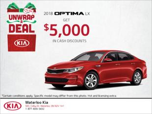 Get the 2018 Kia Optima!