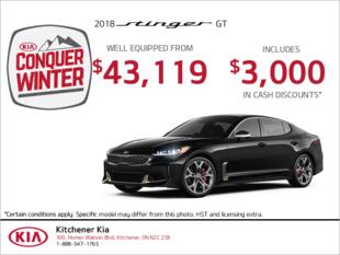 Get the 2018 Kia Stinger!