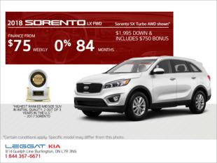 Get the 2018 Kia Sorento