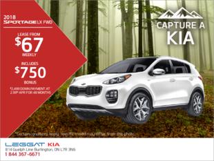 Save on the 2018 Kia Sportage
