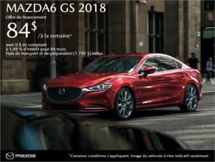 Procurez-vous la Mazda6 2018 aujourd'hui!