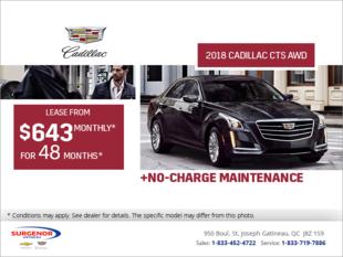 2018 Cadillac CTS AWD