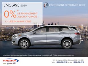 Obtenez le Buick Enclave 2019