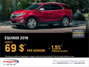 Louez le Chevrolet Equinox 2019