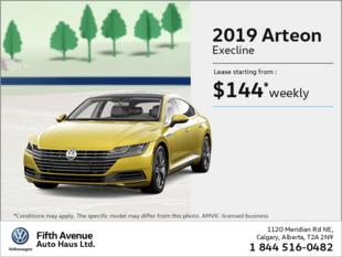 Get the 2019 Arteon!