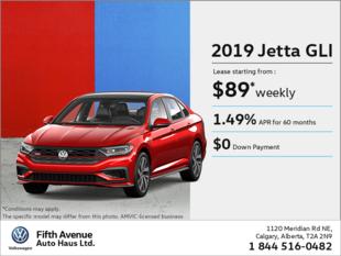 Get the 2019 Jetta GLI!