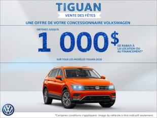 Vente des fêtes Tiguan!