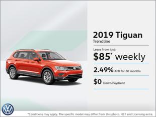 Lease the 2019 Tiguan!