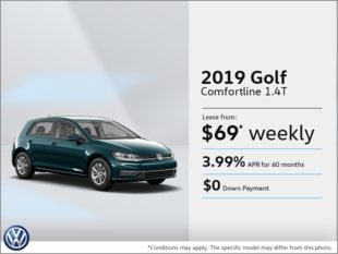 Lease the 2019 Golf!