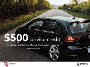 500$ Service Credit