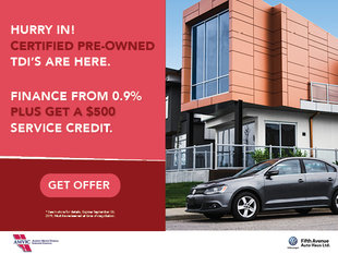 Certified Pre-Owned TDI Clearout