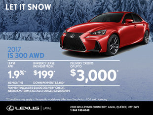 Save on the 2017 Lexus IS Today!