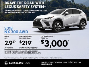 Save on the 2018 Lexus NX Today