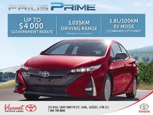 Prius Prime Rebate