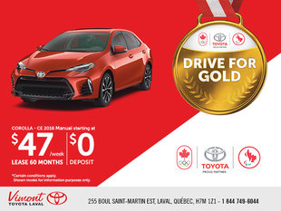 The Drive For Gold Event - Corolla