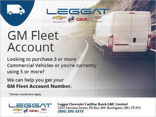 GM Fleet Account