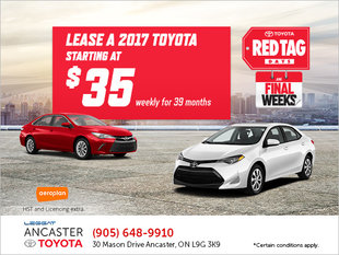 Toyota's Red Tag Days Event