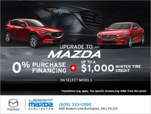 Upgrade to Mazda Event