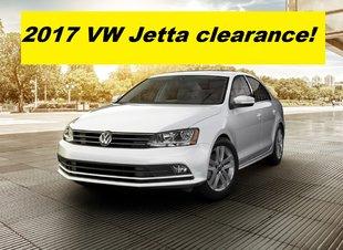 2017 Jetta Clearance