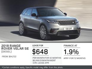 The 2018 Range Rover Velar S Diesel