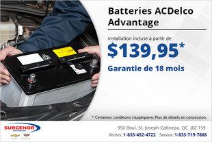 Une batterie installée à petit prix