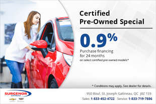 Certified Pre-Owned Special