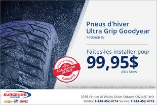 Installation de pneus Goodyear
