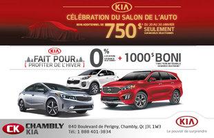 Célébration du Salon de l'auto