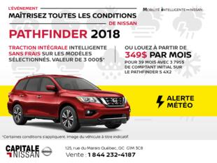 Nissan Pathfinder 2018 chez Capitale Nissan