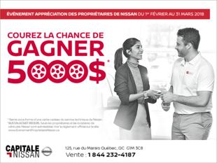 L'Événement appréciation des propriétaires de Nissan chez Capitale Nissan