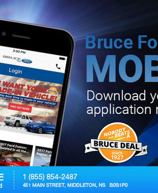 Bruce Ford Goes Mobile!