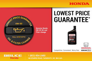 Lowest Price Guarantee for Oil & Filter Change